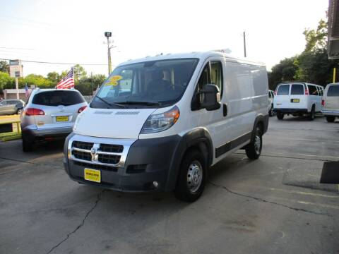 2016 RAM ProMaster Cargo for sale at Metroplex Motors Inc. in Houston TX