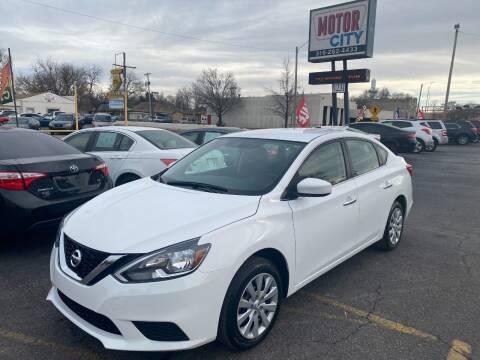 2018 Nissan Sentra for sale at Motor City Sales in Wichita KS