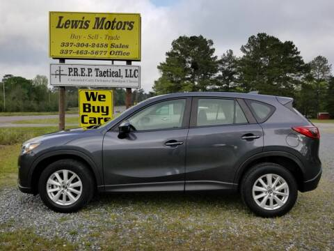 2014 Mazda CX-5 for sale at Lewis Motors LLC in Deridder LA
