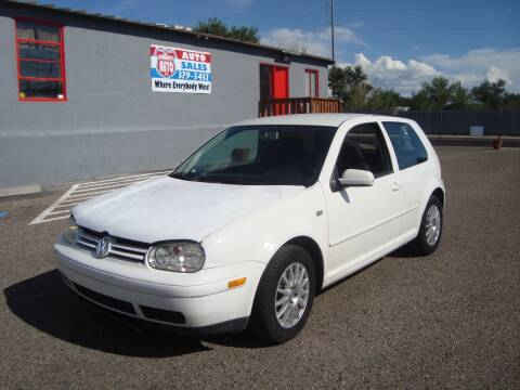 2003 Volkswagen Golf for sale at One Community Auto LLC in Albuquerque NM
