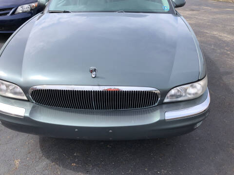 1998 Buick Park Avenue for sale at Berwyn S Detweiler Sales & Service in Uniontown PA
