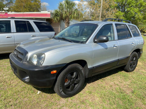 2005 Hyundai Santa Fe for sale at Massey Auto Sales in Mulberry FL