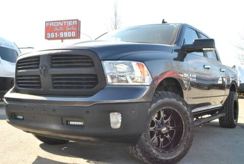 2017 RAM Ram Pickup 1500 for sale at Frontier Auto & RV Sales in Anchorage AK