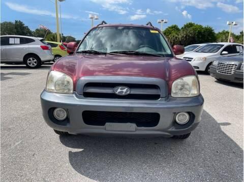2005 Hyundai Santa Fe for sale at My Value Car Sales in Venice FL