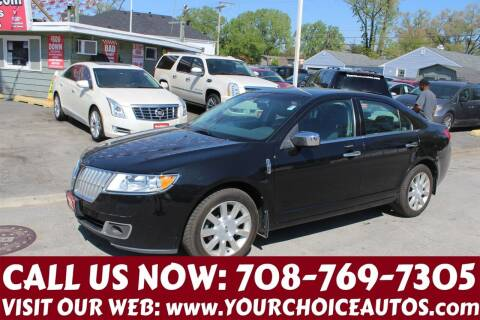 2010 Lincoln MKZ for sale at Your Choice Autos in Posen IL