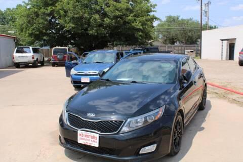 2015 Kia Optima for sale at KD Motors in Lubbock TX