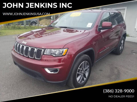2018 Jeep Grand Cherokee for sale at JOHN JENKINS INC in Palatka FL