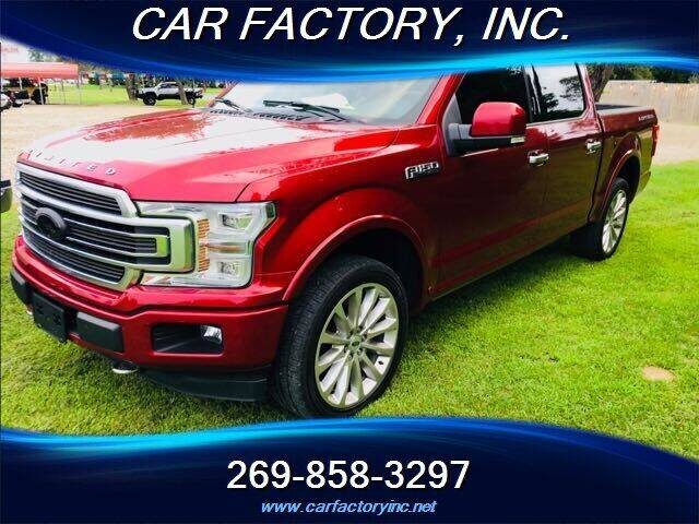 2018 Ford F-150 for sale at Car Factory Inc. in Three Rivers MI