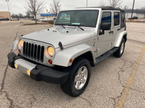 2012 Jeep Wrangler Unlimited for sale at TKP Auto Sales in Eastlake OH