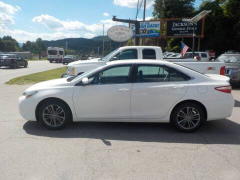2017 Toyota Camry for sale at EAST MAIN AUTO SALES in Sylva NC