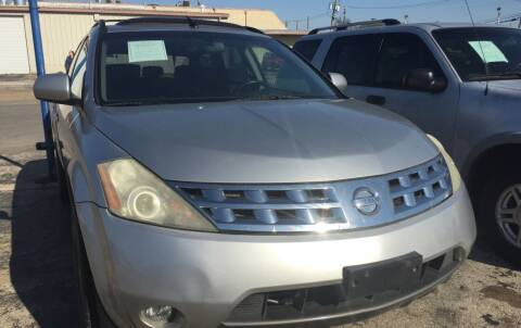 2004 Nissan Murano for sale at Dave-O Motor Co. in Haltom City TX