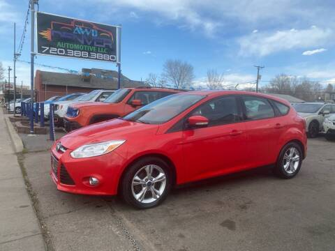 2014 Ford Focus for sale at AWD Denver Automotive LLC in Englewood CO