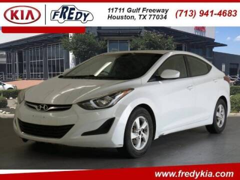 2015 Hyundai Elantra for sale at FREDYS CARS FOR LESS in Houston TX