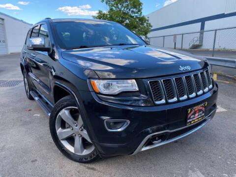 2014 Jeep Grand Cherokee for sale at JerseyMotorsInc.com in Teterboro NJ