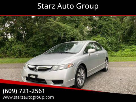 2009 Honda Civic for sale at Starz Auto Group in Delran NJ