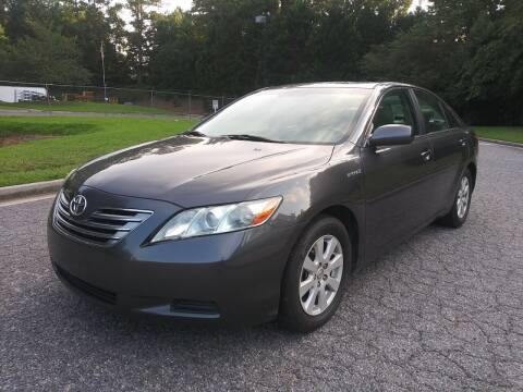 2009 Toyota Camry Hybrid for sale at Final Auto in Alpharetta GA