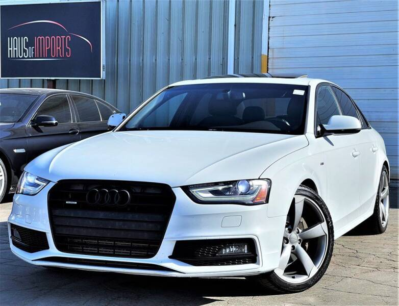 2014 Audi A4 for sale at Haus of Imports in Lemont IL