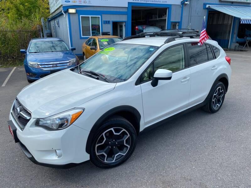 2015 Subaru XV Crosstrek for sale at Bridge Road Auto in Salisbury MA
