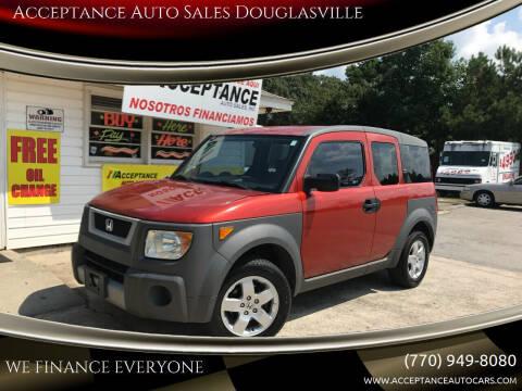 2004 Honda Element for sale at Acceptance Auto Sales Douglasville in Douglasville GA