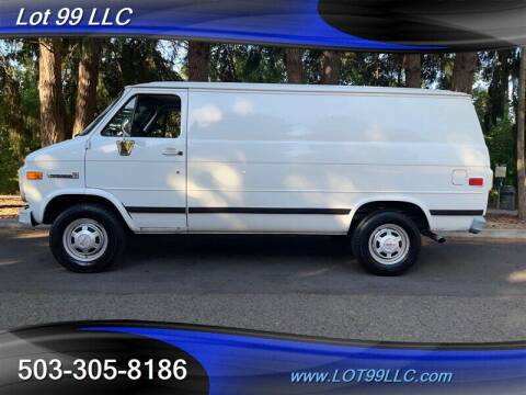 1995 GMC Vandura for sale at LOT 99 LLC in Milwaukie OR