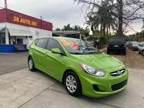 2013 Hyundai Accent for sale at 3K Auto in Escondido CA