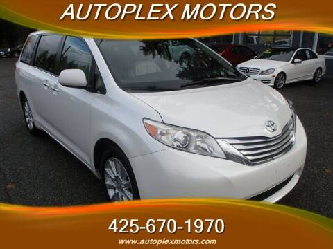 2011 Toyota Sienna for sale at Autoplex Motors in Lynnwood WA