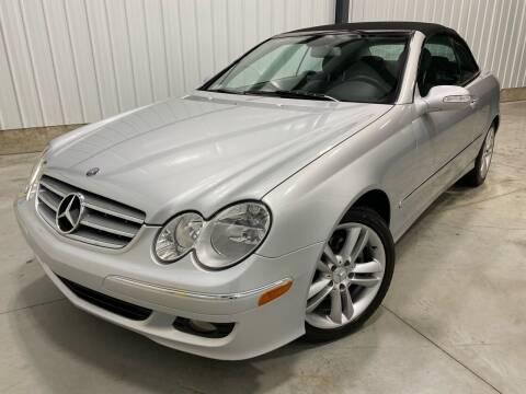 2007 Mercedes-Benz CLK for sale at EUROPEAN AUTOHAUS, LLC in Holland MI