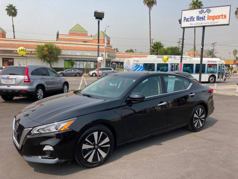 2020 Nissan Altima for sale at Pacific West Imports in Los Angeles CA