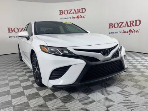 2020 Toyota Camry for sale at BOZARD FORD in Saint Augustine FL