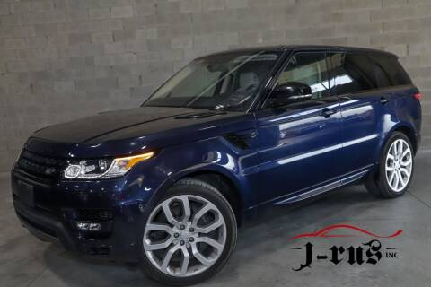2017 Land Rover Range Rover Sport for sale at J-Rus Inc. in Macomb MI