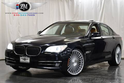 2013 BMW 7 Series for sale at ZONE MOTORS in Addison IL