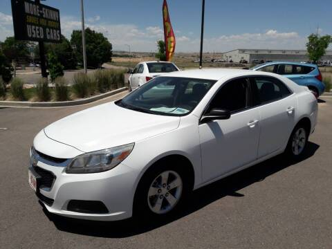 2015 Chevrolet Malibu for sale at More-Skinny Used Cars in Pueblo CO