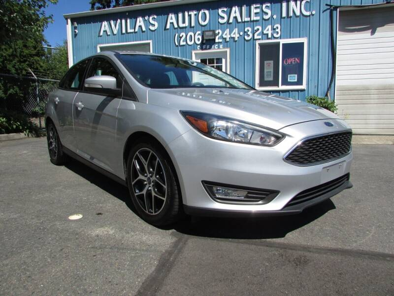 2018 Ford Focus for sale at Avilas Auto Sales Inc in Burien WA