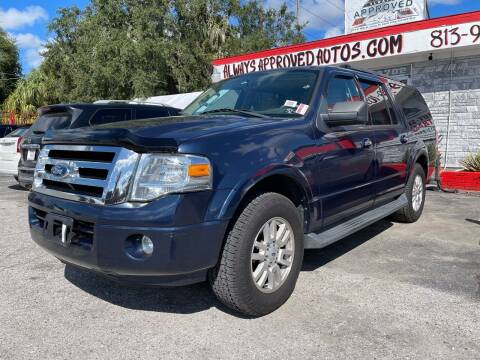 2013 Ford Expedition EL for sale at Always Approved Autos in Tampa FL
