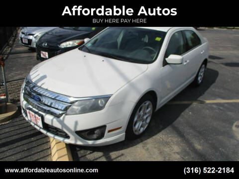 2011 Ford Fusion for sale at Affordable Autos in Wichita KS