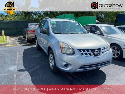 2014 Nissan Rogue Select for sale at AUTOSHOW SALES & SERVICE in Plantation FL