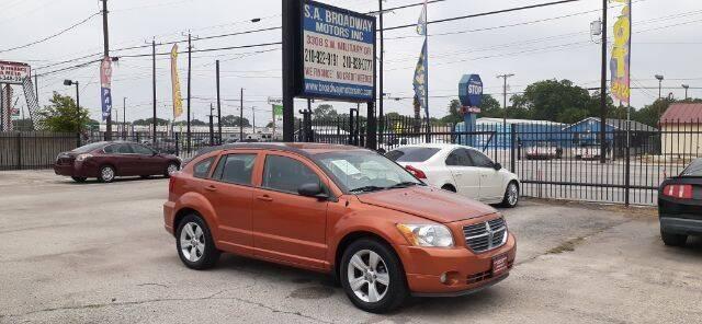 2011 Dodge Caliber for sale at S.A. BROADWAY MOTORS INC in San Antonio TX