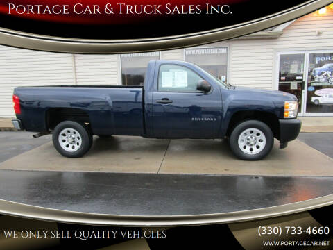 2012 Chevrolet Silverado 1500 for sale at Portage Car & Truck Sales Inc. in Akron OH
