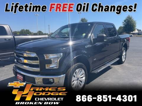 2015 Ford F-150 for sale at James Hodge Chevrolet of Broken Bow in Broken Bow OK