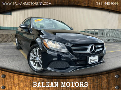2015 Mercedes-Benz C-Class for sale at BALKAN MOTORS in East Rochester NY