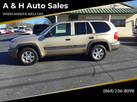 2007 Isuzu Ascender for sale at A & H Auto Sales in Greenville SC