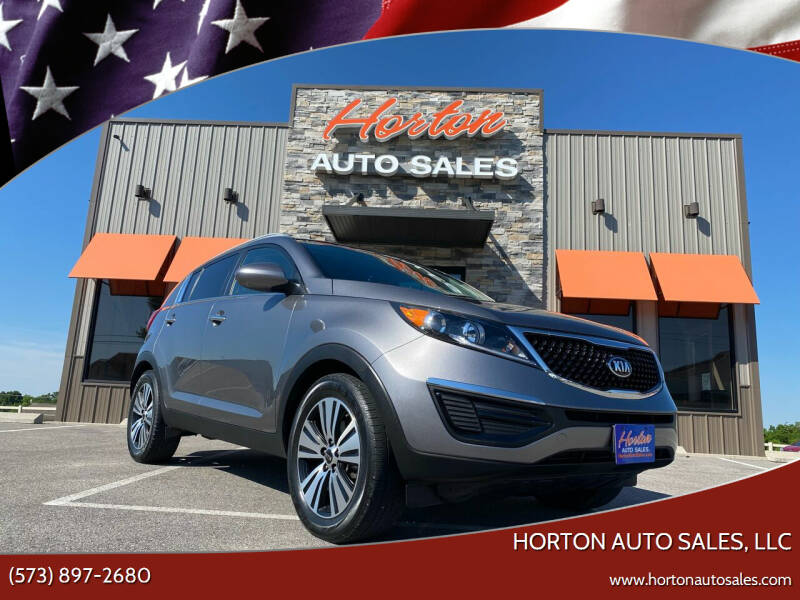 2016 Kia Sportage for sale at HORTON AUTO SALES, LLC in Linn MO