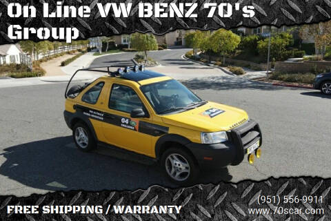 2003 Land Rover Freelander for sale at On Line VW BENZ 70's Group in Warehouse CA
