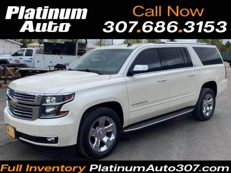2015 Chevrolet Suburban for sale at Platinum Auto in Gillette WY