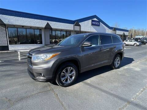 2014 Toyota Highlander for sale at Impex Auto Sales in Greensboro NC