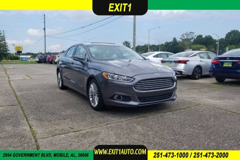 2014 Ford Fusion for sale at Exit 1 Auto in Mobile AL