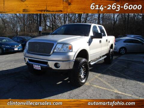 2006 Ford F-150 for sale at Clintonville Car Sales - AutoMart of Ohio in Columbus OH