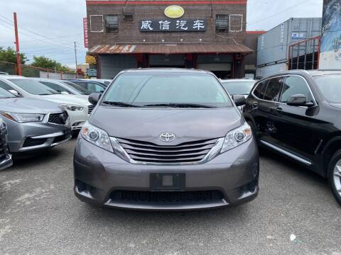 2017 Toyota Sienna for sale at TJ AUTO in Brooklyn NY
