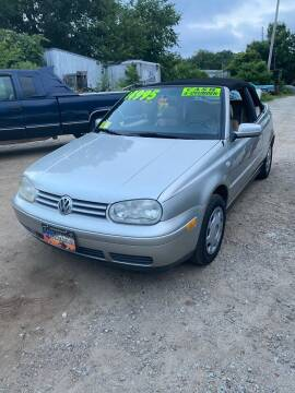 2001 Volkswagen Cabrio for sale at Irving Auto Sales in Whitman MA