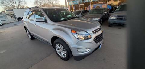 2017 Chevrolet Equinox for sale at Divine Auto Sales LLC in Omaha NE